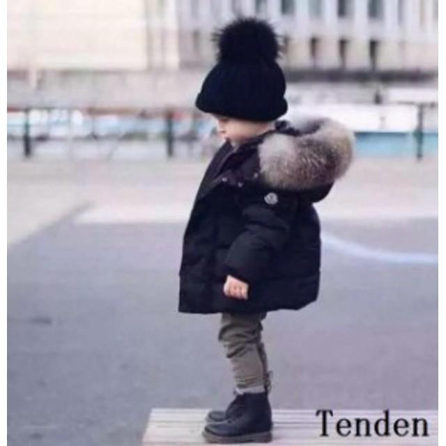 c6170b05f8ade ベビー服 子供服 ダウンコート 防寒 アウターウエア コート 赤ちゃん 中綿ジャケット 女の子 フード付き可愛い