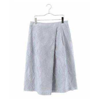 HIROKO BIS GRANDE / 花柄ジャカードスカート