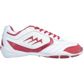 《期間限定 セール開催中》AGLA メンズ スニーカー&テニスシューズ(ローカット) ホワイト 41 指定外繊維