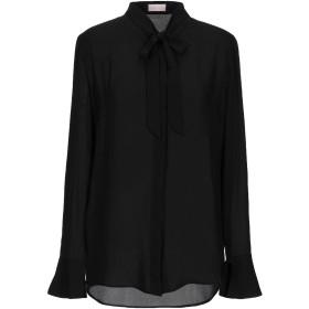 《期間限定 セール開催中》ALEX VIDAL レディース シャツ ブラック 34 ポリエステル 100%