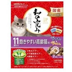 Nisshin/日清ペットフード  JPスタイル 和の究み 11歳から 飽きやすい高齢猫用 240g