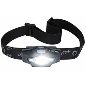 Litom LEDヘッドライト スポットライト【明るさ100ルーメン/実用点灯8時間】 防水仕様 6つの点灯モード キャンプ/サイクリング/ハイキン