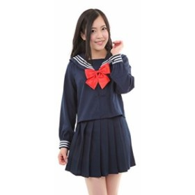 CosplayDepart コスプレ セーラー服 長袖 セット 仮装 女子高生制服 兼用 ハロウィン