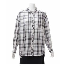 eur3 / 全3色【大きいサイズ】ドロップショルダーシャツ