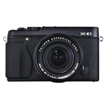 【中古 保証付 送料無料】FUJIFILM X-E1 レンズキット ブラック / デジタルカメラ ミラーレス一眼 ミラーレス /一眼レフカメラ/初心者