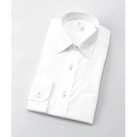 【SALE(三越)】<イムズ/IMZ> 長袖白ドビーシャツ(ZMD810-202) 202シロ 【三越・伊勢丹/公式】