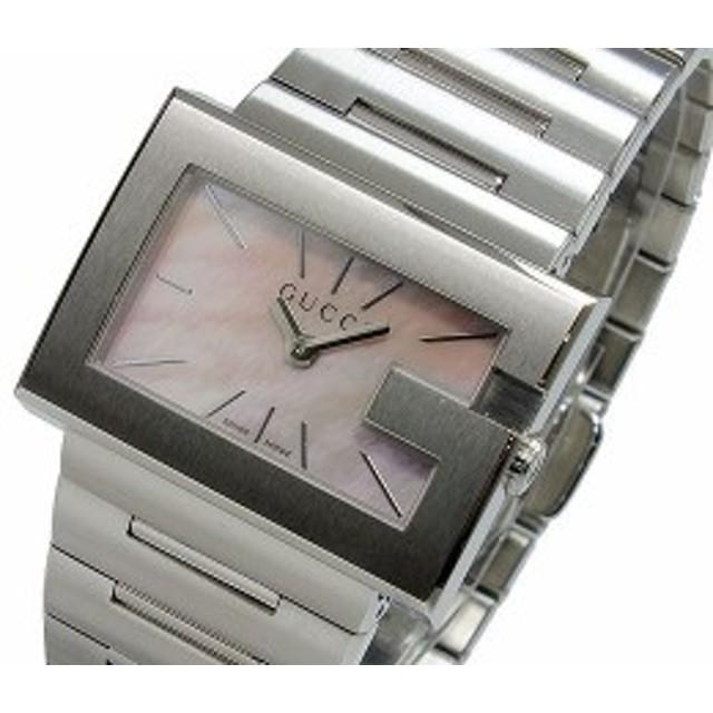 1c77b0f1d58e グッチ 腕時計 レディース GUCCI 時計 Gレクタングル ピンクシェル シルバー 人気 ブランド 女性 ギフト クリスマス プレゼント