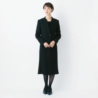 フォーマル レディース 喪服 礼服 ブラックフォーマル スーツ スタンドカラーブラックフォーマル2点セットスーツ 9〜21AR 「ブラック」,179) %>