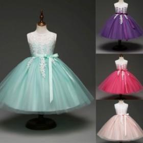 59ac763fc7832 子供 刺繍 ドレスフォーマルピアノ発表会ドレス 子どもドレス 女の子ワンピースキッズダンス衣装 コンクール