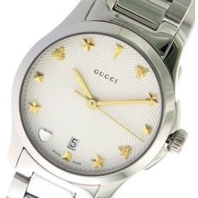 ca36090399 グッチ 腕時計 レディース GUCCI 時計 Gタイムレス オフホワイト シルバー 人気 ブランド 女性 ギフト クリスマス プレゼント