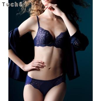 GUNZE グンゼ Tuche(トゥシェ) 3/4カップワイヤーブラジャー(レディース)【SALE】 アイスブルー B80