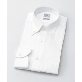 【SALE(三越)】<CHOYAシャツメーカー/CHOYA SHIRT MAKER> 長袖白ドビーシャツ(CID801-201) 201シロ 【三越・伊勢丹/公式】