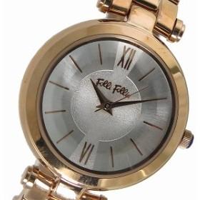 0866d20880 フォリフォリ 腕時計 レディース FOLLI FOLLIE 時計 シルバー ピンクゴールド 人気 ブランド 女性 ギフト クリスマス プレゼント