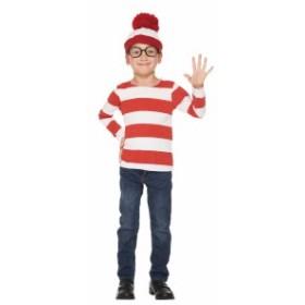 子供用ウォーリー S 100-120cm対応 ウォーリーをさがせ ハロウィン 仮装 ハロウィン 衣装 コスチューム コスプレ