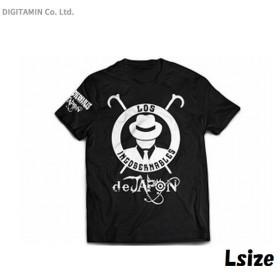 新日本プロレスリング L・I・J Tシャツ (ブラック×ホワイト) L◆ネコポス送料無料(ZB59351)