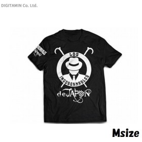新日本プロレスリング L・I・J Tシャツ (ブラック×ホワイト) M◆ネコポス送料無料(ZB59350)