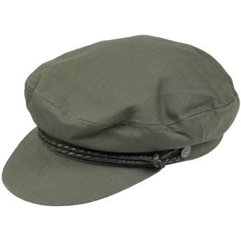 《期間限定セール開催中!》BRIXTON メンズ 帽子 ミリタリーグリーン XS 50% ウール 50% ポリエステル