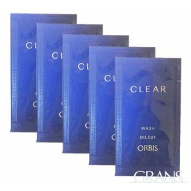 ORBIS  オルビス クリアウォッシュ 医薬部外品   お試し5回分 <洗顔料 洗顔フォーム> トラベルサイズ 旅行用