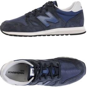 《期間限定 セール開催中》NEW BALANCE メンズ スニーカー&テニスシューズ(ローカット) ブルー 8.5 革 / 紡績繊維 520 VINTAGE BASIC