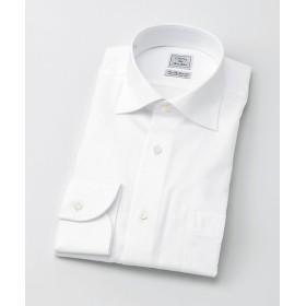 <CHOYAシャツメーカー/CHOYA SHIRT MAKER> 長袖白ドビーシャツ(CID800-202) 202シロ 【三越・伊勢丹/公式】
