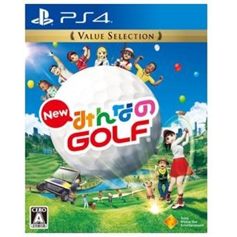 【PS4】New みんなのGOLF Value Selection【返品種別B】