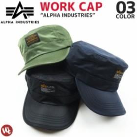 ワークキャップ ALPHA INDUSTRIES(アルファインダストリーズ)MA-1 17893300 帽子 メンズ レディース 3カラー【あす着】