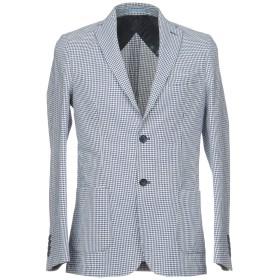 《期間限定セール開催中!》HERMAN & SONS メンズ テーラードジャケット ブルー 52 70% コットン 30% 麻