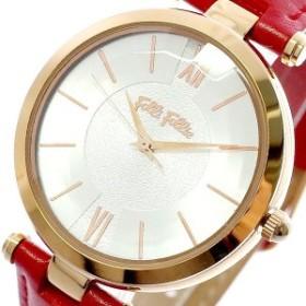 2a9480722f フォリフォリ 腕時計 レディース FOLLI FOLLIE 時計 シルバー レッド 赤 人気 ブランド 女性 ギフト クリスマス プレゼント