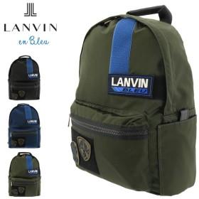 最大39%!ランバンオンブルー リュック メンズ レディース クレスト 577701 LANVIN en Bleu | リュックサック バックパック A4 軽量 ナイロン ワッペン