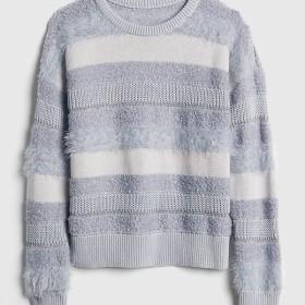 Gap ストライプ ミックステクスチャー セーター