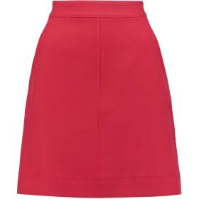 《期間限定 セール開催中》DKNY レディース ひざ丈スカート レッド 2 100% ウール