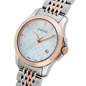 68e623eb28 グッチ 腕時計 レディース GUCCI 時計 Gタイムレス ホワイトシェル おしゃれ 人気 ブランド 女性 ギフト クリスマス プレゼント