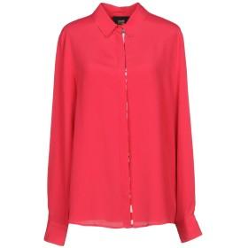 《セール開催中》CAVALLI CLASS レディース シャツ フューシャ 42 アセテート 63% / シルク 37%