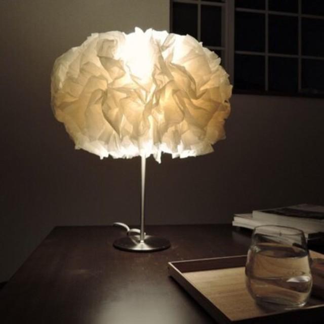 和紙のテーブルランプ(受注制作)