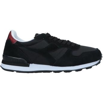 《セール開催中》DIADORA レディース スニーカー&テニスシューズ(ローカット) ブラック 3.5 革 / 紡績繊維
