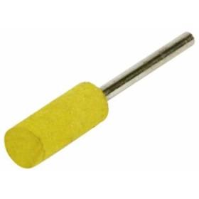 SK11 軸付ゴム砥石#180 G-12(B) 8X20 砥石部分巾:8mm