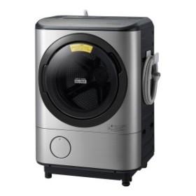 日立 BD-NX120CLヒートリサイクル 風アイロン ビッグドラム [ななめ型ドラム式洗濯乾燥機 (洗濯12.0kg/乾燥6.0kg) 左開き]