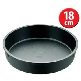 アルミブラック すきやき鍋 18cm QSK43【TC】【en】