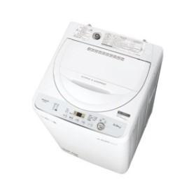 SHARP ES-GE5C ホワイト系 [全自動洗濯機(5.5kg)]【あす着】