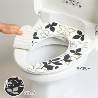 フィーユ おくだけ便座シート 便座カバー 置くだけ トイレグッズ トイレ用品 便座カバートイ
