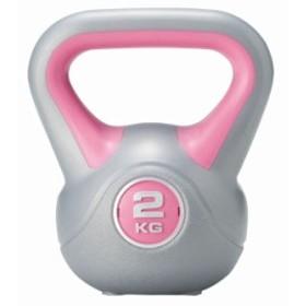 ケトルダンベル2kg KW-777 フィットネス エクササイズ トレーニング スポーツ 健康グッズ 筋トレ