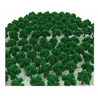 森林 選べる 色 数量 50本 100本 「DauStage」 Nゲージ ジオラマ 鉄道 建築 模型 用 樹木 風景 3cm 03,緑(03,緑 50本)