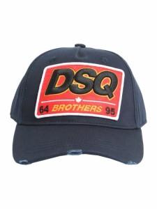 ハット Black 帽子 【Dsquared2 Cap】 キャップ ディースクエアード レディース