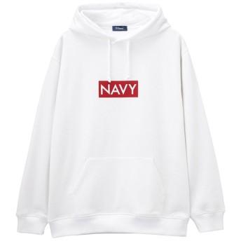 【24%OFF】 マックハウス Navy 温℃ 裏シャギートパーカ 384133MH メンズ ホワイト S 【MAC HOUSE】 【セール開催中】