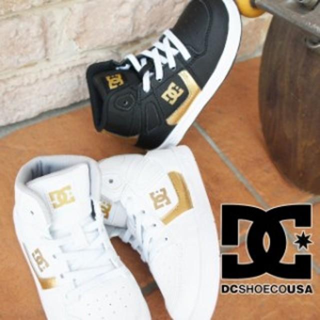 cd8c837ee246c ディーシーシューズ DC SHOES スニーカー 男の子 女の子 子供靴 ベビー キッズ DT184005 ファーストシューズ ハイカット