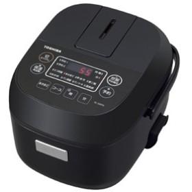 東芝 RC-5MFM-K マイコンジャー炊飯器(3合炊き) ブラックTOSHIBA[RC5MFMK]【返品種別A】
