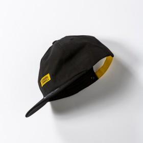 キャップ - SHIFFON MICHAEL LINNELL(マイケルリンネル) ベースボールキャップ(ブラック×ブラック/ブラック×シルバー/ブラック×イエロー)