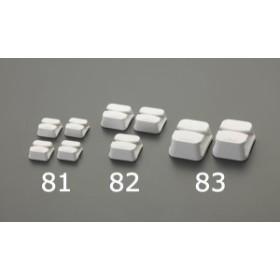 エスコ ESCO 30x30x13mm コードクリップ EA815HZ-81 WO店