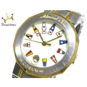 コルム CORUM 腕時計 アドミラルズカップ 39.610.21 V-52 レディース アイボリー×マルチ   スペシャル特価 20190619