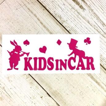 アリス キッズインカー/赤ちゃん 車 ステッカー
